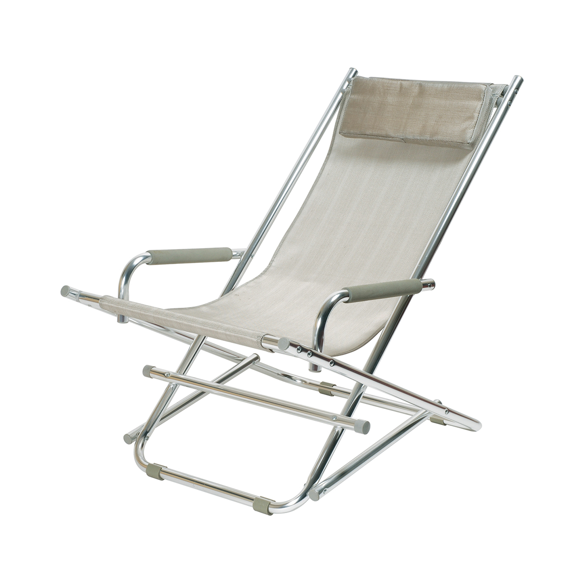 transat aluminium gris abc location. Black Bedroom Furniture Sets. Home Design Ideas