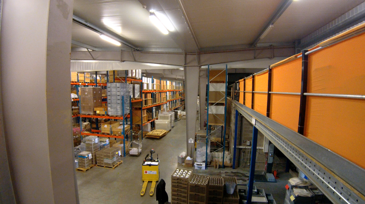 Timelapse centre logistique abc location for Abc cuisine esch